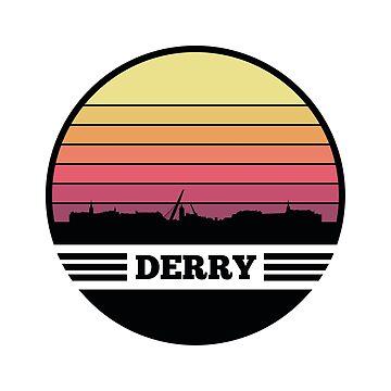 Derry Skyline (Northern Ireland) by SvenHorn