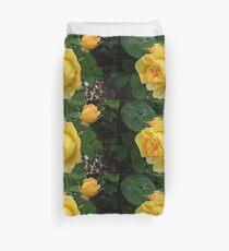 Spec's Yellow - Rose - Front Garden Duvet Cover