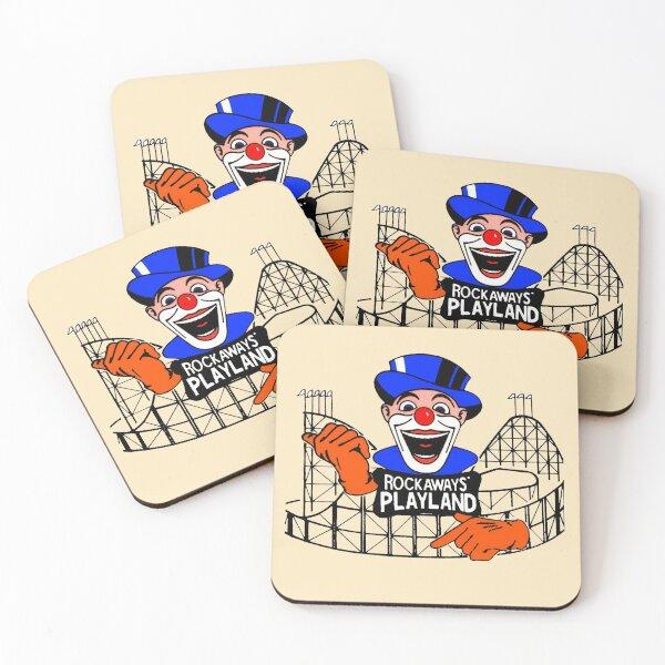 ROCKAWAY'S PLAYLAND Coasters (Set of 4)