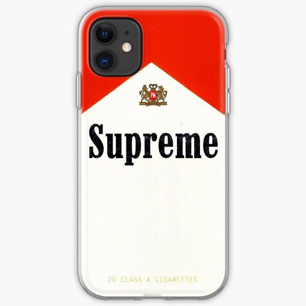 Humo Supremo Funda blanda para iPhone