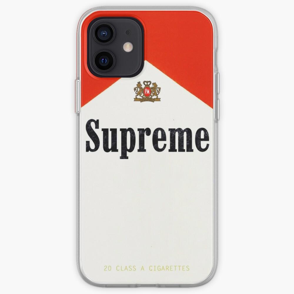 Smoke Supreme iPhone Case & Cover