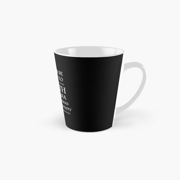 Smooth Tall Mug