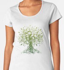 Meditate, Meditation, Spiritual Tree Yoga Women's Premium T-Shirt