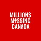 Show Your Support in Red! by Millions Missing Canada