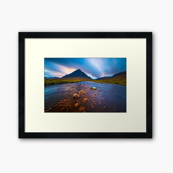 Glencoe Scotland Framed Art Print
