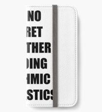 Rhythmic Gymnastics Sport Fan Lover Funny Gift Idea iPhone Wallet/Case/Skin