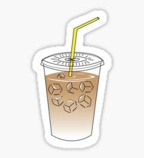 Iced latte Sticker