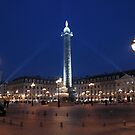 Paris - Place Vendôme. by Jean-Luc Rollier