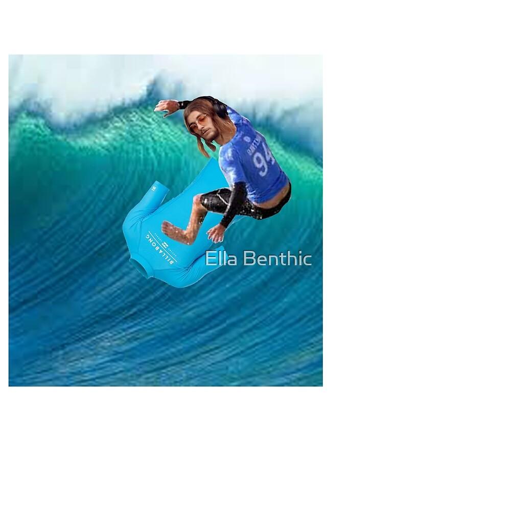 Cashman Winston Surfshirt Par » Shirt Un Ella Surf Portant EW2IHD9