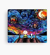 Starry Nigh Galaxy Canvas Print