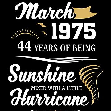 March 1975 Sunshine mixed Hurricane by lavatarnt