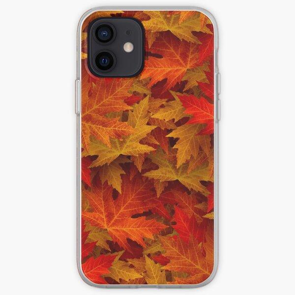 Autumn Leaves Autumn Case iPhone Soft Case