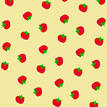 Red Tomato Pattern by BettyMackey