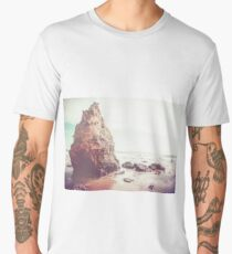 oceanside, people,  beach photography, California photography, California Wall Art Men's Premium T-Shirt