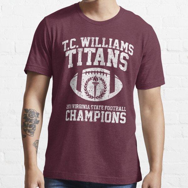 T.C. Williams Titans 1971 Football Champions Essential T-Shirt