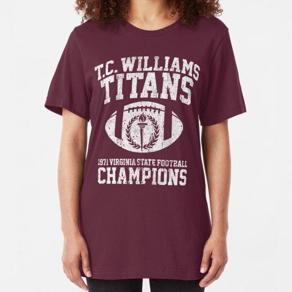 T.C. Williams Titans 1971 Football Champions Slim Fit T-Shirt