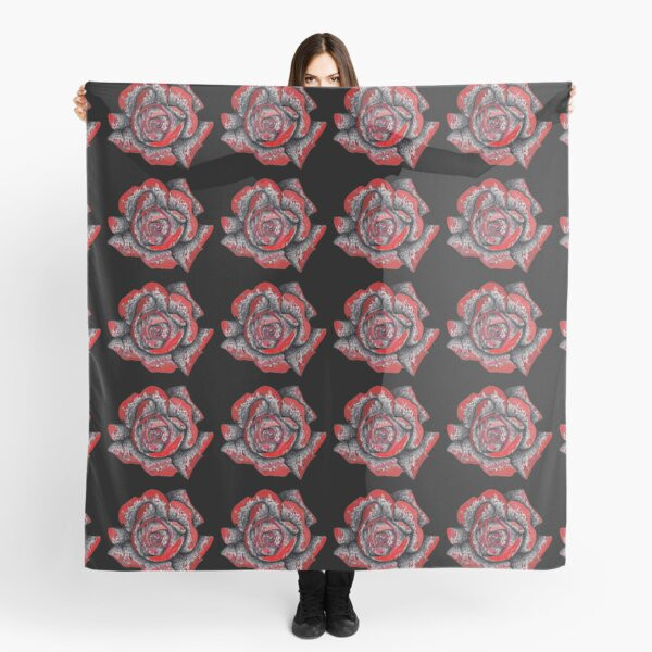 Red Roses Scarf