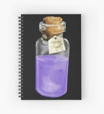 Sleeping Draught Spiral Notebook