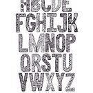 The SciArt Alphabet by Hana Ayoob