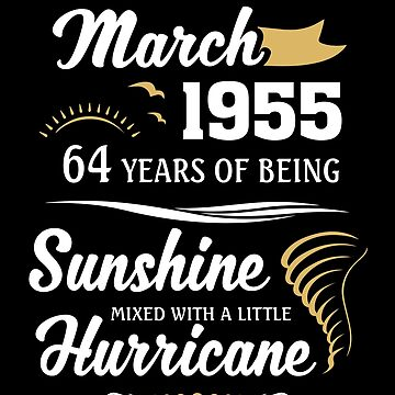 March 1955 Sunshine mixed Hurricane by lavatarnt