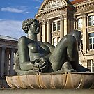 Floozie in the jacuzzi by Steve plowman