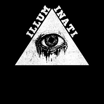 All Seeing Dripping Crying Eye of Providence by KoolMoDee
