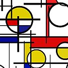 Mondrian pattern by DigitalShards