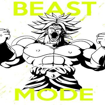 "Broly ""Beast Mode"" by mugenjyaj"