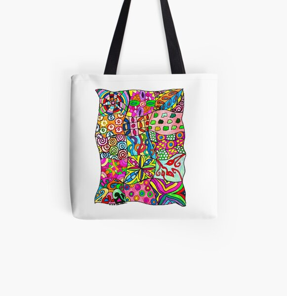 Keep An Eye Out for Patterns! All Over Print Tote Bag