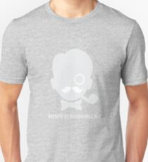 White is So Vanilla Unisex T-Shirt