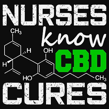 Marijuana Cannabis Support Proud Nurse CBD Cure Awareness Shirt Nurse by normaltshirts