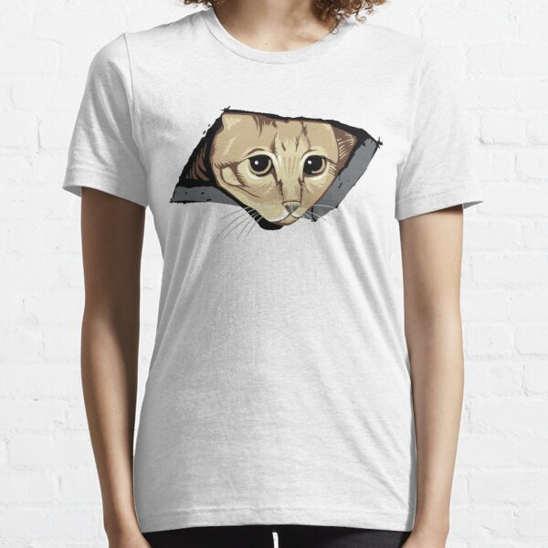 Ceiling Cat Watches You, LOLCat Favorite Essential T-Shirt