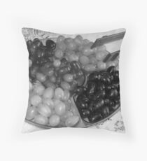 premature cabernet Throw Pillow