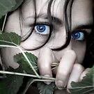 blue eyes by yellowAlien