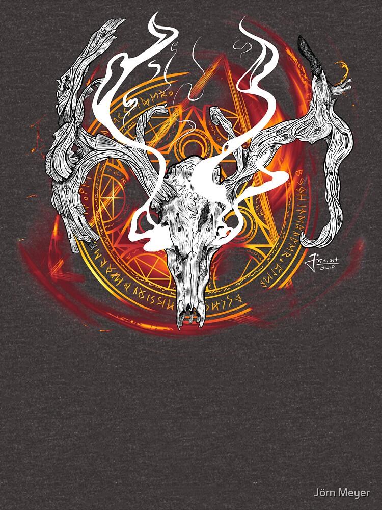 Deer God by joern-art