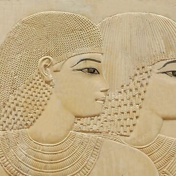Ancient Egyptian couple by camerawithlegs