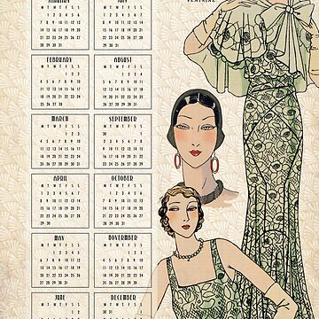 The 30s Calendar No1 by HeritageScrap