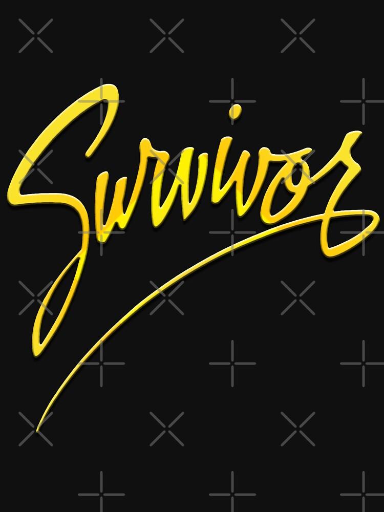 Survivor AOR Band - Logo 1982 3D von tomastich85