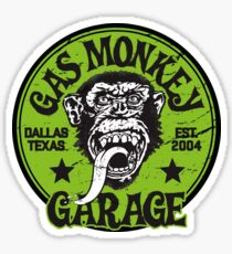 Green Monkey Sticker