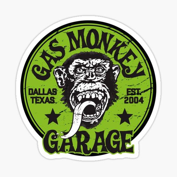 Green Monkey Sticker