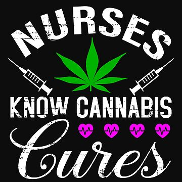 Marijuana Cannabis Support Proud Nurse CBD Cure Awareness Shirt Nurse Hat by normaltshirts