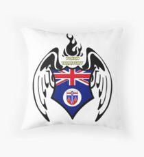 Yukon Territory Flag - Coat of Arms - Canada - Northern America - Wings Design Floor Pillow