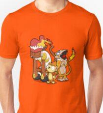 Funky Fire Monkeys Unisex T-Shirt