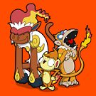 Funky Fire Monkeys by Aniforce