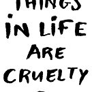 The best things in life are cruelty free by Josephine Skapare