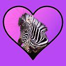 My Zebra's Heart by Tatyana Binovskaya