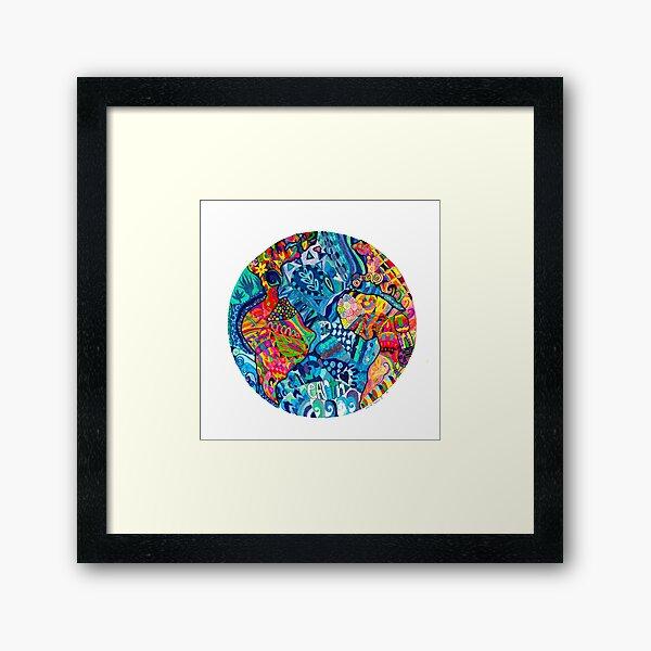 One Earth- One World Framed Art Print