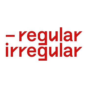 fuente regular irregular nct de softseb