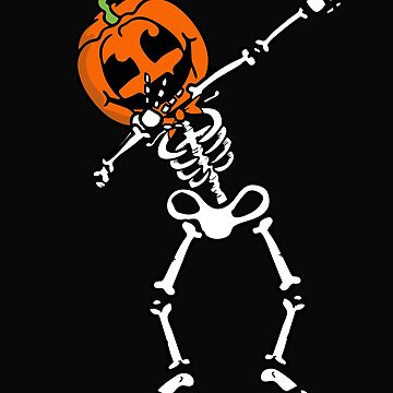Dabbing Skeleton by alenaz