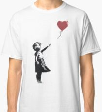 girl with balloon Classic T-Shirt
